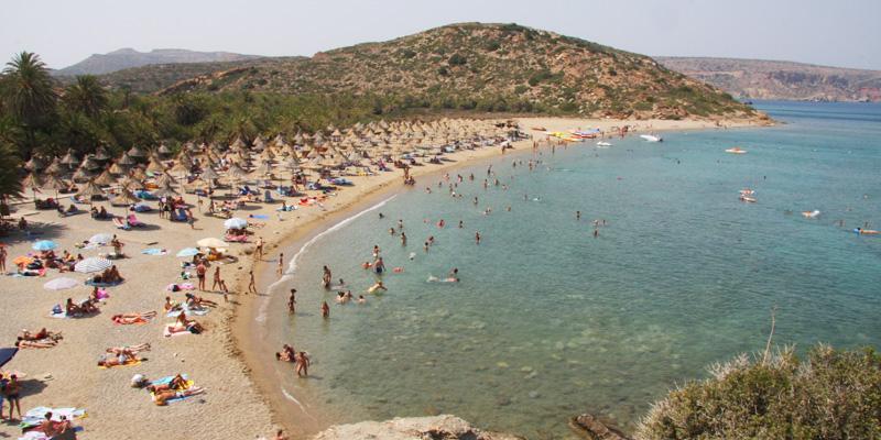 Vai Strand auf Kreta